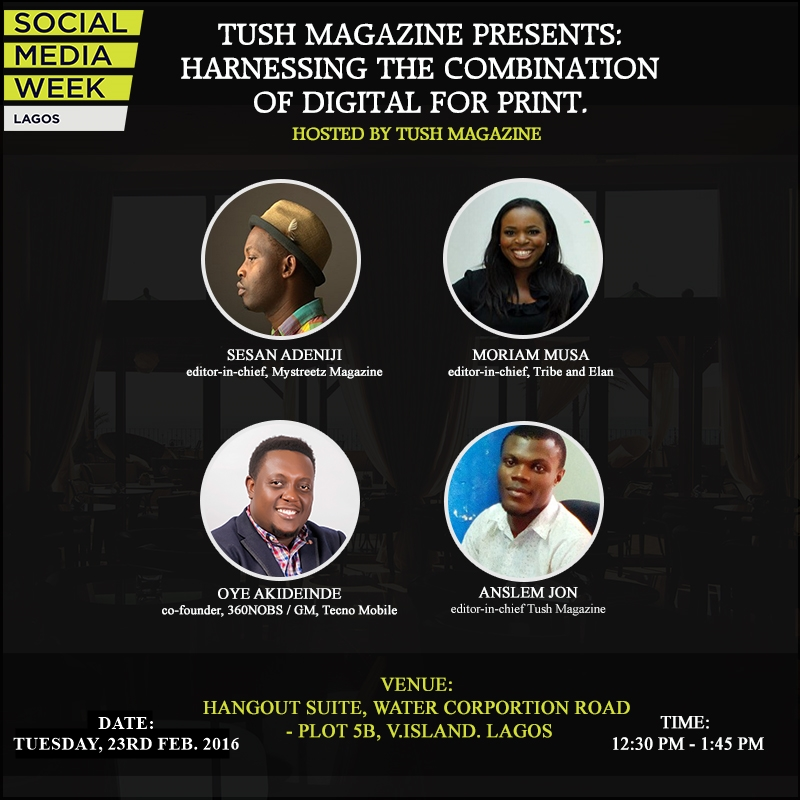 Join us Today at the Social Media Week Lagos #SMWLagos