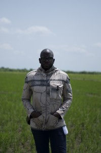 Rotimi Williams, owner of Nigeria's second largest rice farm