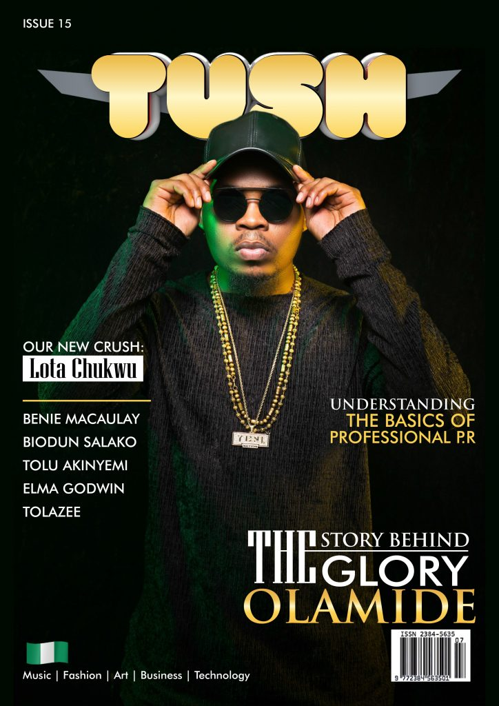 Olamide Dominates the Cover Of Tush Magazine Issue 15