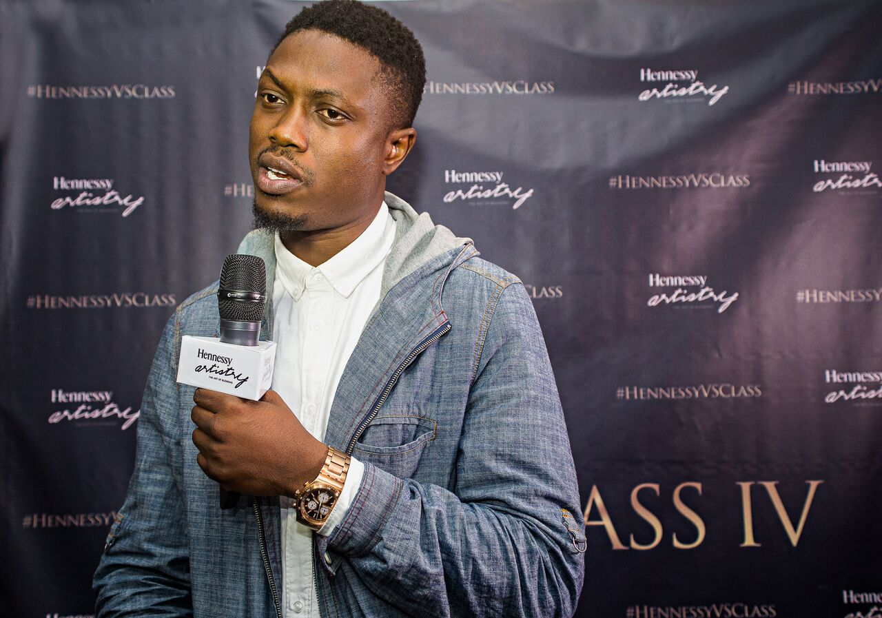 Vector, Falz, Yung6ix and Phlowetry at First Ever VS Class Live Auditions