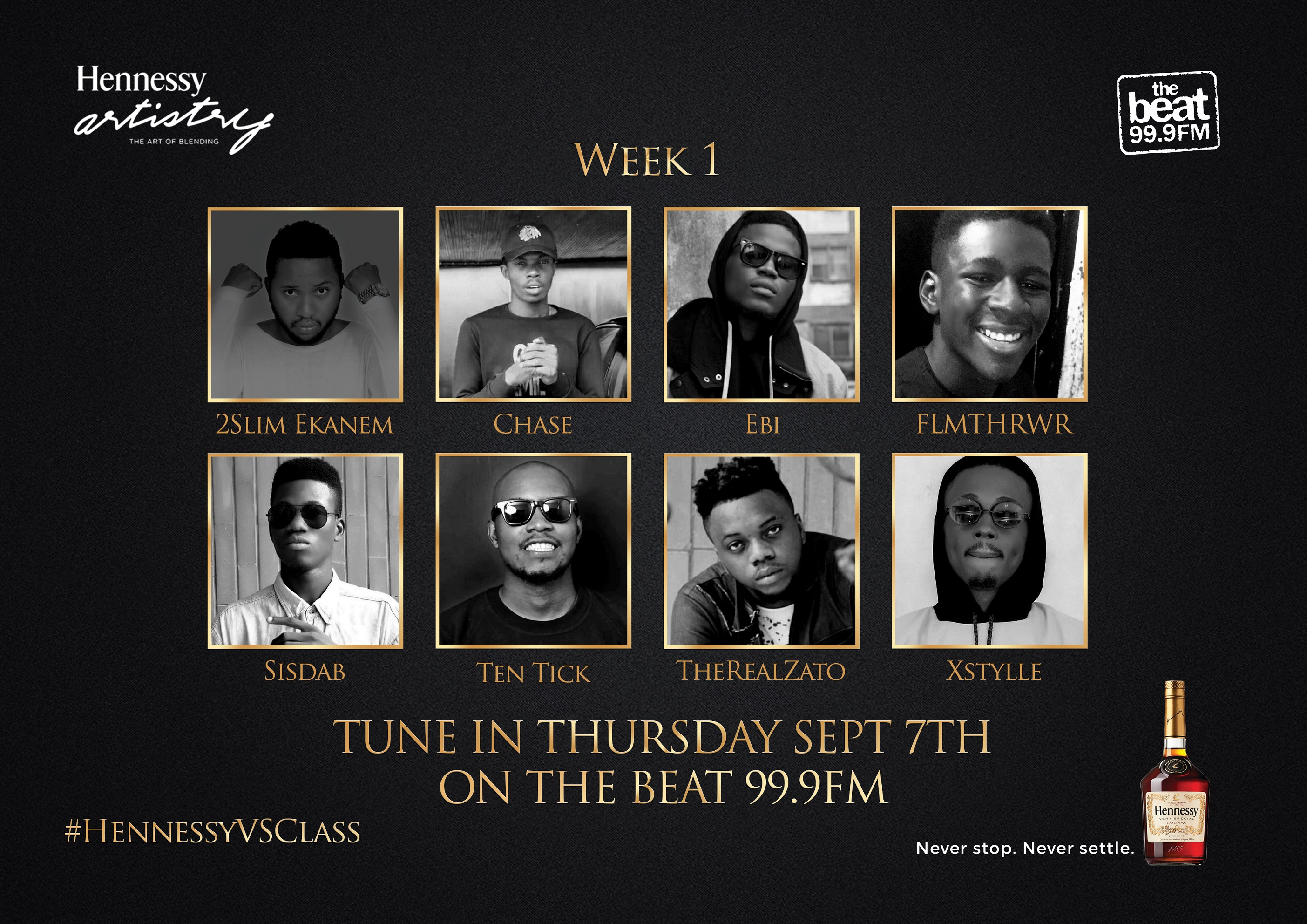 #HennessyVSClass: Class Is Officially In Session
