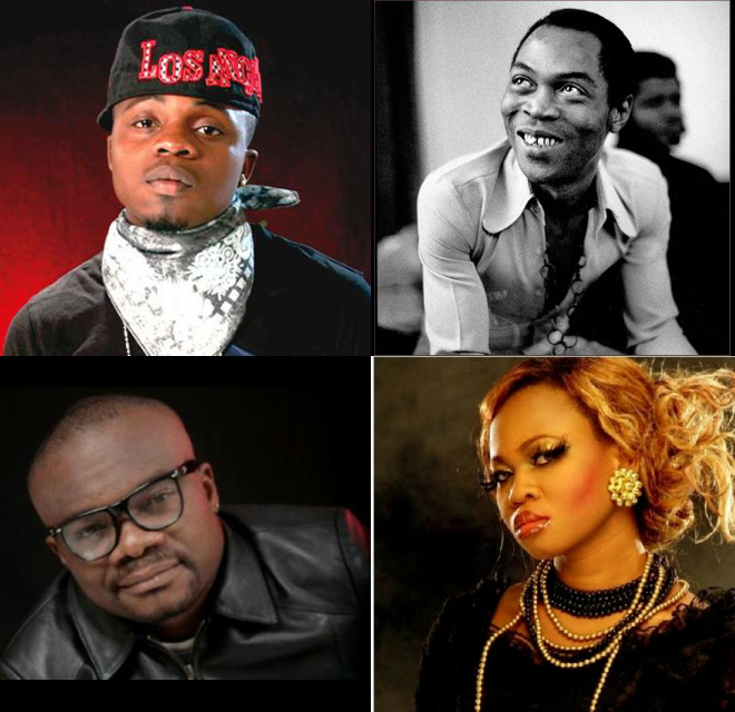 Forgetting Fela, Da Grin, Goldie, Mc Loph & HCode?