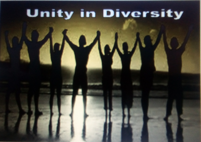 Entry 24 – Unity in Diversity