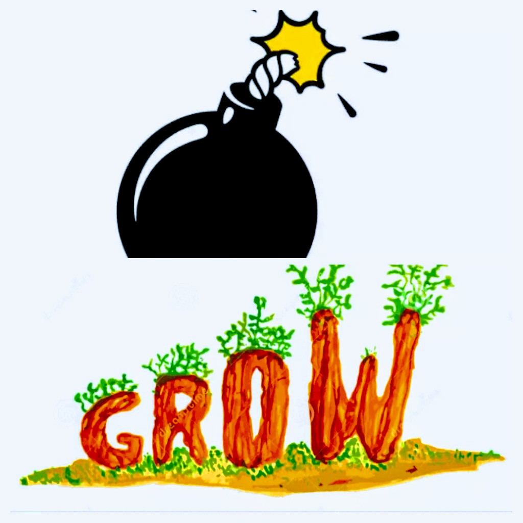 Would You Rather 'blow' Than 'grow'?