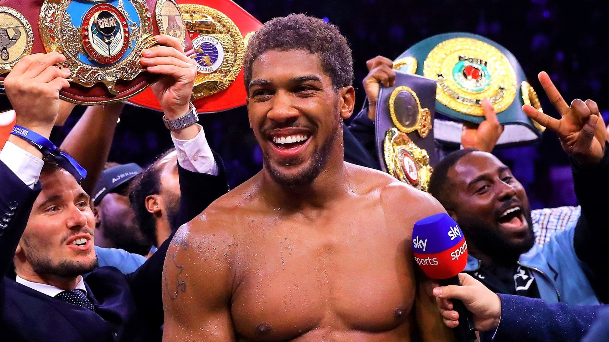 Anthony Joshua's Win Is Our Win, Nigeria's Win