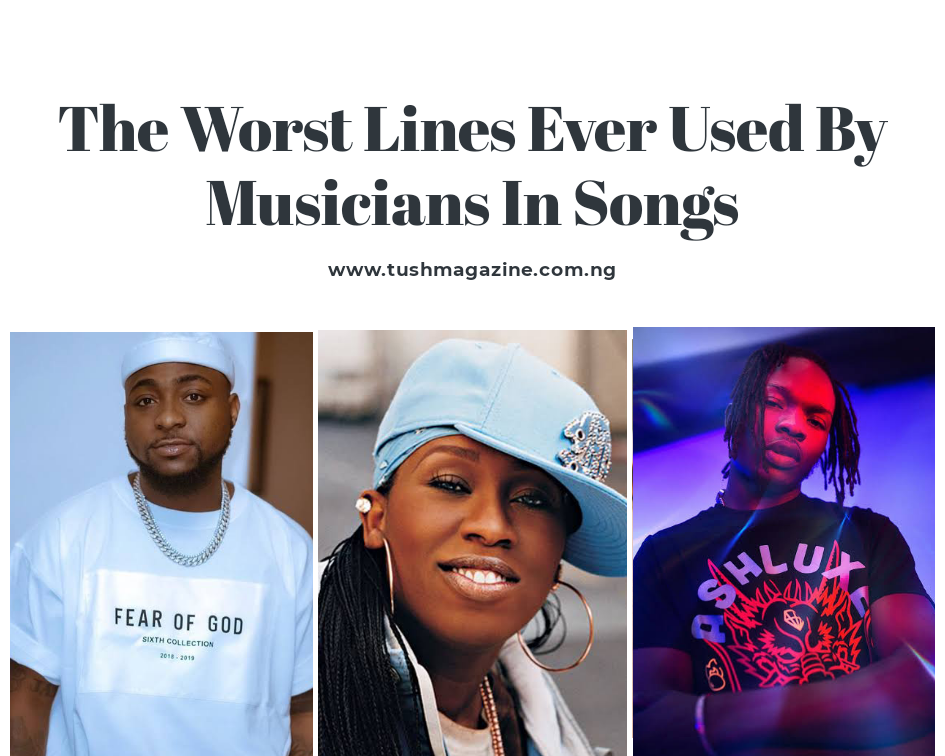 The Worst Lyrics Ever Used By Musicians In Songs