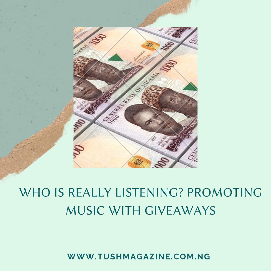 Who's Really Listening?; Promoting Music With Giveaways