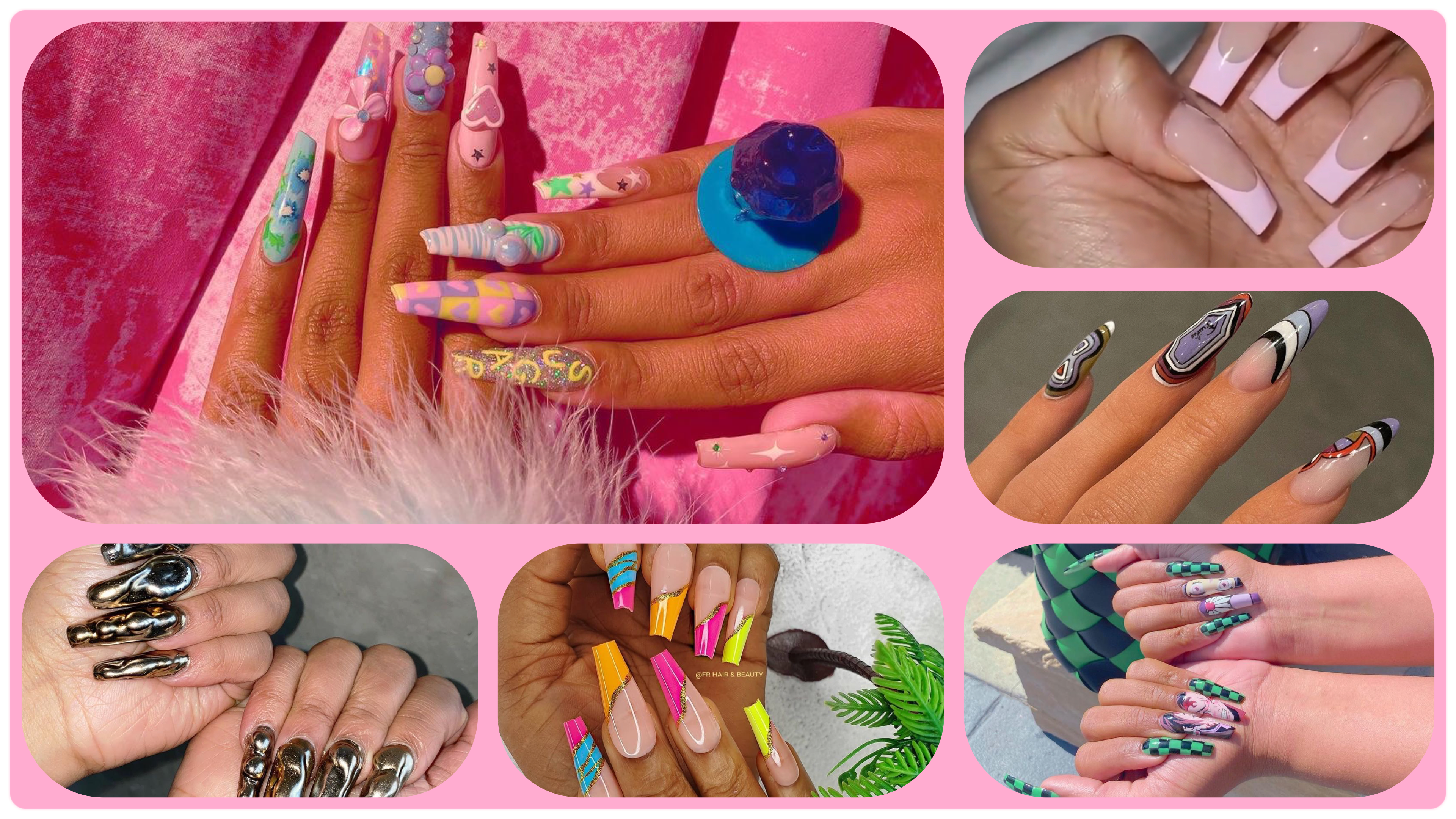 Popular 2021 Nail Trends To Try
