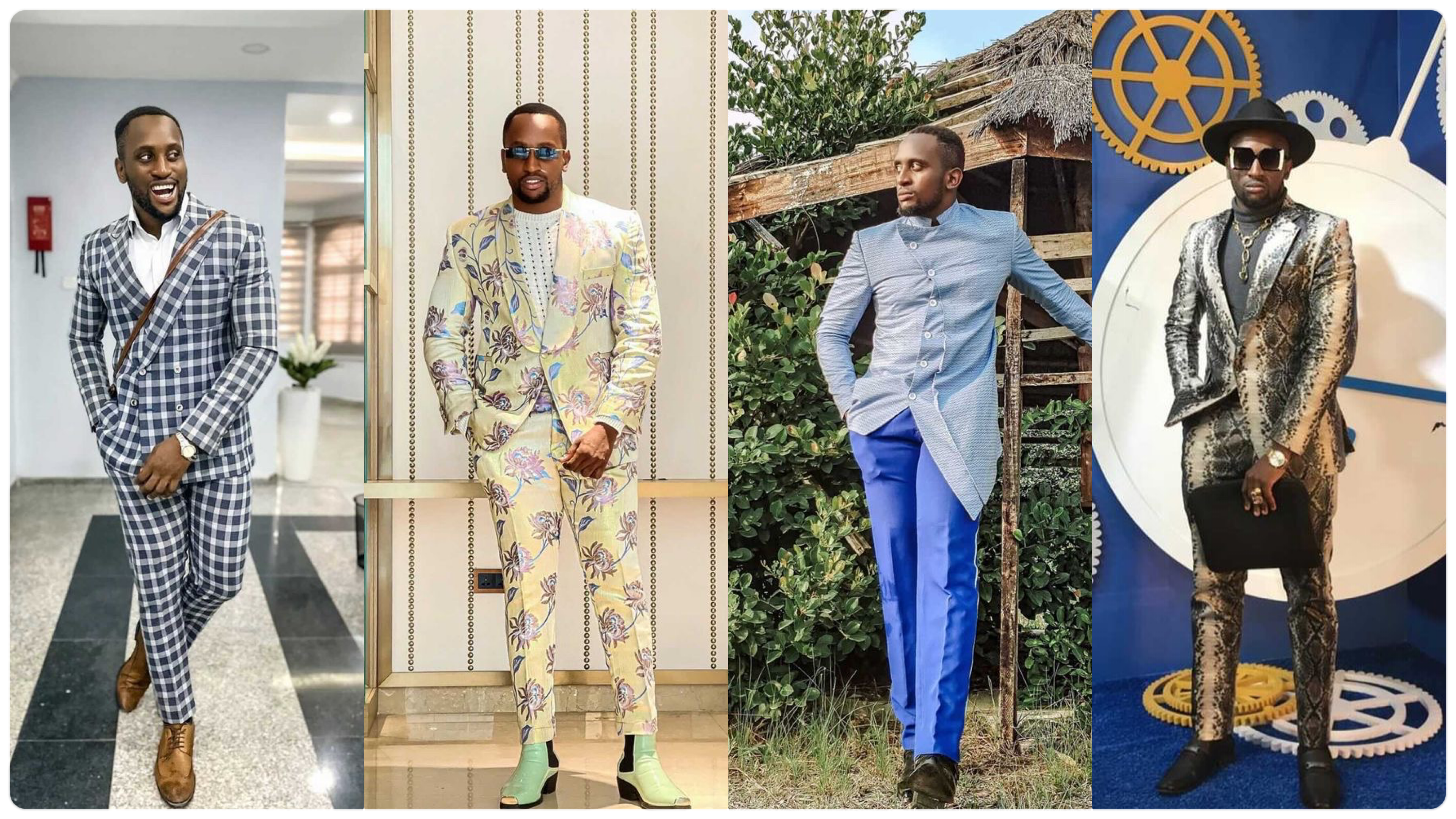 4 Types of Men's Suits For Different Occasions Featuring Nigerian Clothing Brand Chimmy & CO