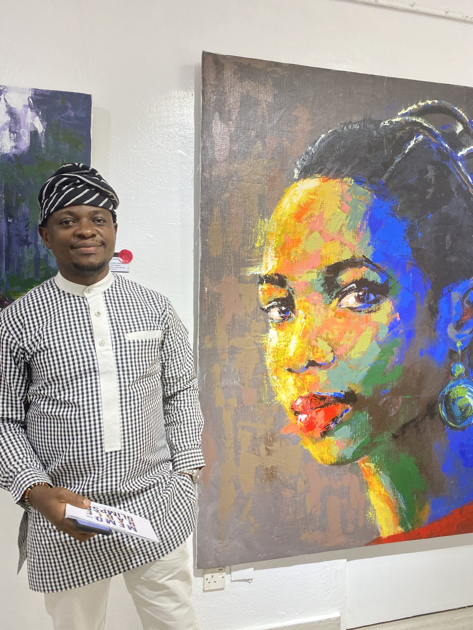 Innocent Chikezie's Exhibition of Nostalgia Comes To An End